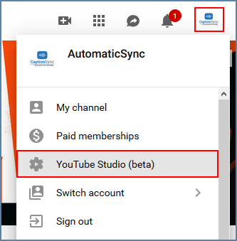 Image of YouTube interface