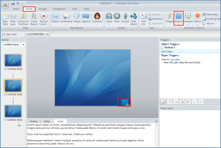 Image of Adding CC button into Articulate Presentation